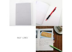 Lines Notebooks — awesome for journaling ideas