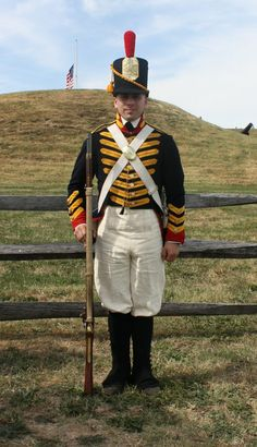 U.S. Marine, 1812 uniform