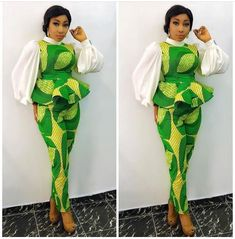 Ankara Top And Trouser Styles 2018 for African Ladies .Ankara Top And Trouser Styles 2018 for African Ladies African Fashion Designers, African Fashion Ankara, Latest African Fashion Dresses, African Dresses For Women, African Print Fashion, African Wear, African Attire, African Women, African Style