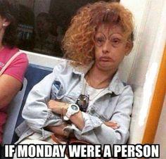 Monday Person #Monday, #Person