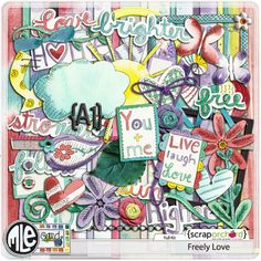 Freely Love by mle Card by mle Card