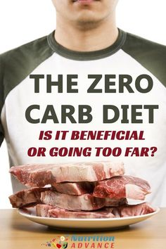 The Zero Carb Diet: Healthy or Harmful? | Zero carb diets are exploding in popularity, and they make keto and low carb diets look easy when it comes to carb restriction. But what are the health effects? This article reviews the evidence and analyzes the benefits and risks. Read more at: http://nutritionadvance.com/zero-carb-diet | Via @nutradvance via @nutradvance