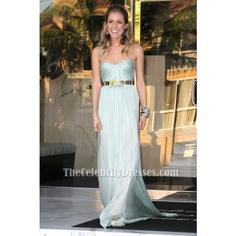 Kristin Cavallari Light Blue Prom Dress Marine Corps Ball Red Carpet