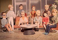 The cast of The Thunderbirds