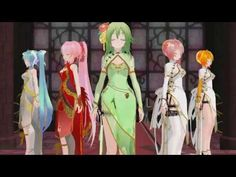 Kawaii Girl MMD - YouTube