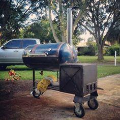 60 Gallon Reverse flow BBQ Smoker - Imgur