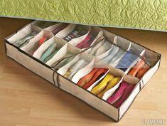 Хранение обуви: лайфхаки, варианты и идеи организации