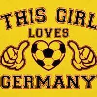 This girl loves Germany
