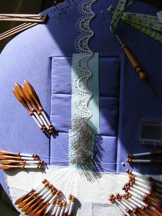 Bedforshire lace project, 2011