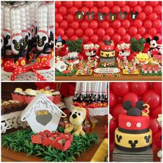 Fun ideas for a Mickey Mouse party.  Perfect for the Micky Mouse Clubhouse aficionado in your life.