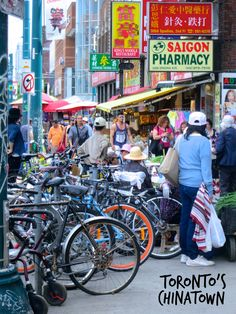 Toronto has a vibrant Chinatown. It's just one of the neighborhoods that makes up Toronto's culinary mosaic.