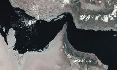 The Strait of Hormuz in the Gulf
