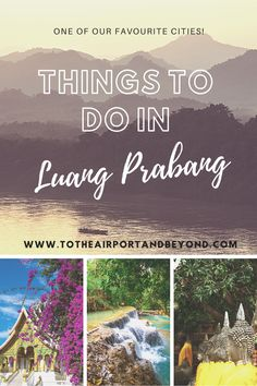 Things to do in Luang Prabang, Laos Stuff To Do, Things To Do, Elephant Sanctuary, Vientiane, North Vietnam, French Colonial, Luang Prabang, Before Sunrise, The Monks