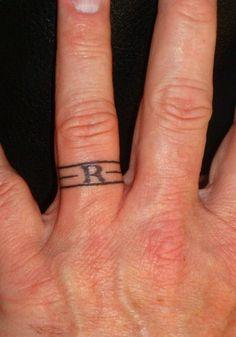 ring tattoos men