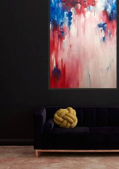 Abstract image inspired by a rainy day in Kyoto - blurred vision of cherry blossoms Abstract Images, Cherry Blossoms, Kyoto, Contemporary, Inspired, Artist, Artwork, Room, Painting