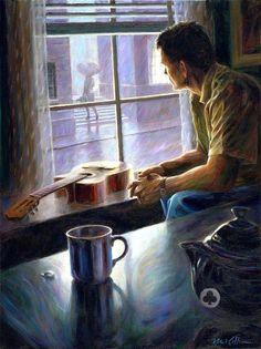 Mark Keller / Coffee Art / Coffee Shop Stuff