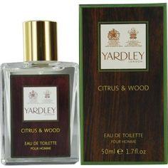 Yardley By Yardley Citrus & Wood Edt Spray 1.7 Oz