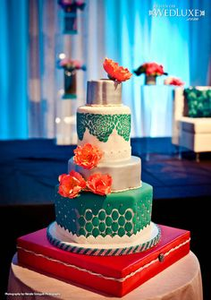 155 best Coral and Teal Wedding Ideas images on Pinterest | Dream ...