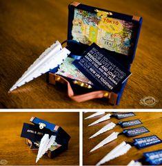 El Verbo Regalar: Invitaciones de boda originales