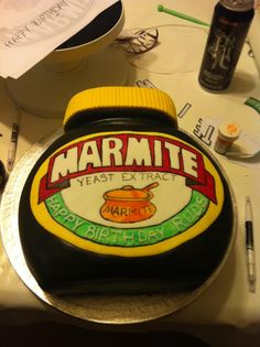 You'll either love or hate this Marmite Cake!