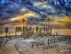 Sunset at Pine Island, Hernando County, Florida
