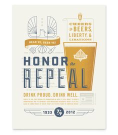 Summit Brewing 2012 Repeal Poster