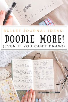 Drawing tiny doodles in my bullet journal is such a fun way of keeping memories, gratitude logs, food diaries, or travel impressions alive! Even if you can't draw, a lot of these doodle art ideas are incredibly simple and beginner friendly. All my spreads