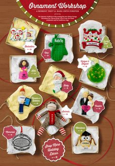 Shop Our Collection of Personalized Christmas Ornaments at Personal Creations
