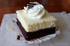 Cheesecake Brownie at Boardwalk Bakery, Boardwalk Inn, Disney World, Orlando, Florida #Disney #DisneyWorld #WDW #WaltDisneyWorld #ThemeParkFood #Brownies