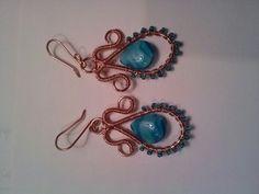 Mermaid's purse earrings