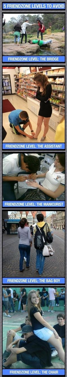 Levels of Friendzone // funny pictures - funny photos - funny images - funny pics - funny quotes - #lol #humor #funnypictures
