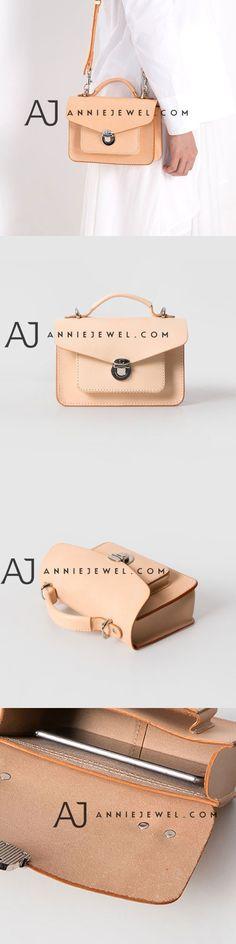Overview: Design: Genuine Leather vintage handmade shoulder bag crossbody bag handbag In Stock: days to process orders Include: Only HandbagCustom: NoneColor: CreamMaterial: CowhideMeasures: x x 1 zip main slo. Leather Purses, Leather Handbags, Leather Wallet, Handmade Handbags, Leather Bags Handmade, Satchel Bag, Crossbody Bags, Clutch Bags, Stylish Handbags