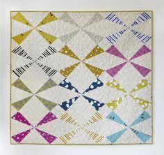 Windmill Quilt Pattern — Cotton + Steel Fabrics                                                                                                                                                                                 More