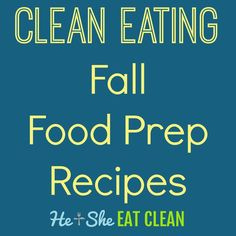As the seasons change our food prep usually changes right along with it!  During the summer our food prep usually consists of things like Clean  Eating Chicken Salad and Zesty Grilled Chicken. In the fall we usually like  to make more cold-weather type recipes, many that use the slow cooker!  Our food prep lately has consisted of the following recipes. We hope that  you enjoy them as much as we have!  P.S. Never miss a recipe. Click below to follow us on Pinterest!  Follow Us On Pinterest…