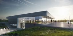 Multi-Purpose Sports Facility Building / MoederscheimMoonen Architects