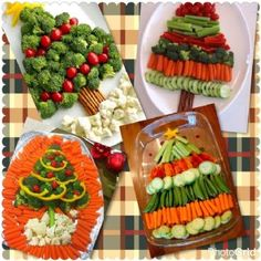 Christmas Tree Veggie Tray Ideas Best Picture For kids christmas party For Your Taste You are lookin Christmas Apps, Christmas Party Food, Christmas Brunch, Xmas Food, Christmas Appetizers, Christmas Cooking, Christmas Goodies, Christmas Desserts, Christmas Fruit Ideas