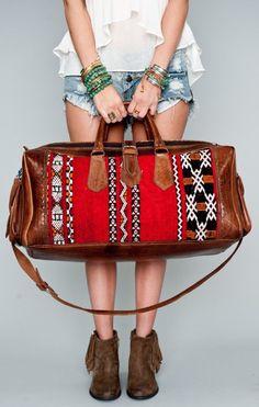 Santa Fe Travel Bag <3