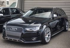 Black Audi Allroad - quite possibly the most reposted picture on IG