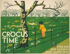 Crocus time, by Herry Perry, 1931 -