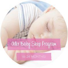 Older Baby Sleep Program (6-24 Months)