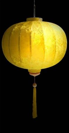 > silk lantern