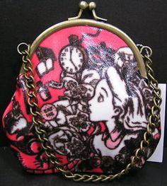 Alice in Wonderland Coin purse