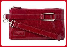 Miche Red Patent Wristlet/Clutch/Wallet - Wallets (*Amazon Partner-Link)