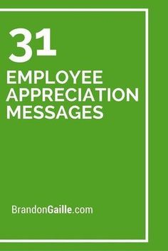 31 Employee Appreciation Messages Statistics show that half of employees switch jobs to gain more recognition. Showing your employees a little appreciation can go a long way. Gallup found that employees who receive praise, perform better. This act helps Employee Appreciation Messages, Appreciation Note, Volunteer Appreciation, Teacher Appreciation Gifts, Volunteer Gifts, Customer Appreciation, Pastor Appreciation Quotes, Teacher Gifts, Staff Morale