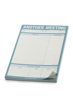 Another Meeting Notepad