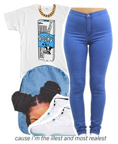 """7/14."" by trinityannetrinity ❤ liked on Polyvore featuring American Apparel and Retrò"