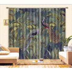 Australia Photos, 3d Curtains, British Colonial, Draped Fabric, Peacock, Tropical, Surface, Windows, Ramen