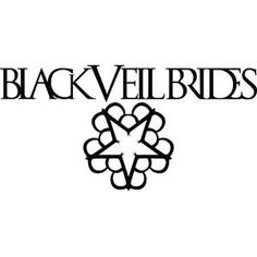 Black Veil Brides Logo Peel & Rub Sticker