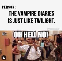 lol I was forced to watch the first Twilight and it was such a clique!! I didn't like it at all. No offense!