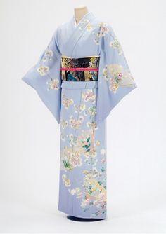 Japanese Kimono KagaYuzen - I love kimonos!